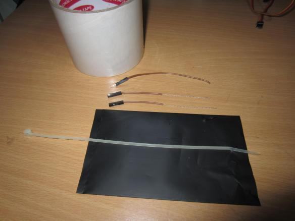 Parts for a DIY Flex Sensor