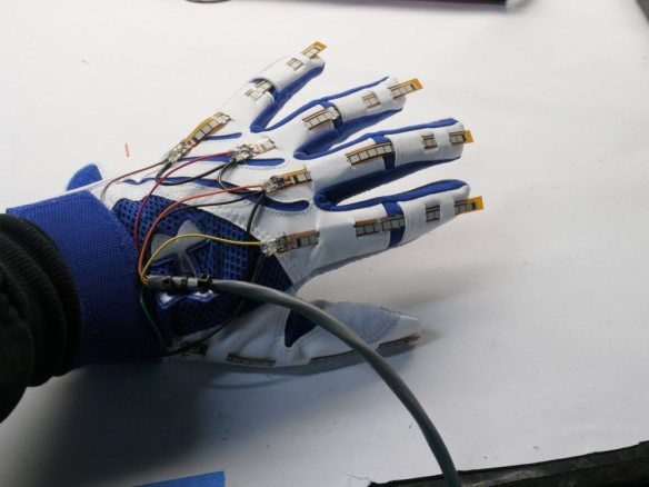 Haptic Glove Made at one of the Country's Finest Technical Colleges
