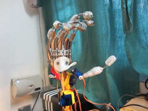 Robot Hand needs a puppeteer