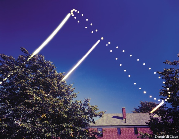 First ever recorded Analemma, Dennis di Cicco