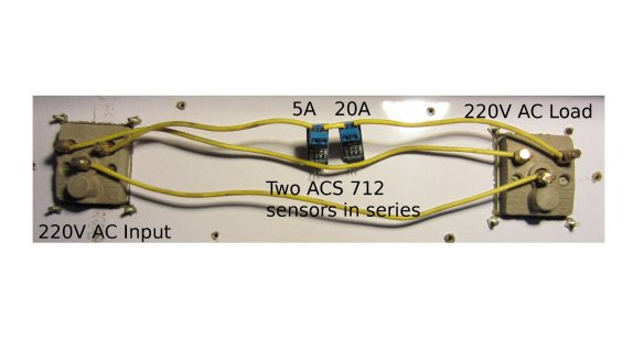 ACS712 Current Meter