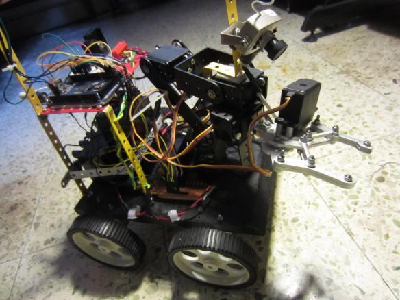 ERP 1. Wireless Mobile Robot