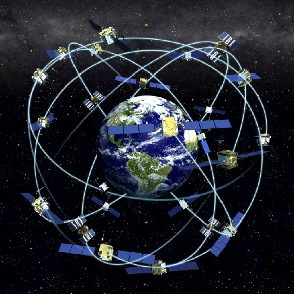 GPS Constellation. Source : Wikipedia